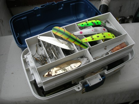 Alongquin Park Lake Trout Fishing Box