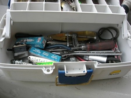 Algonquin Park Lake Trout tackle box
